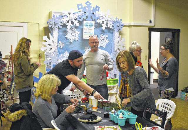 Locals got to take part in some Christmas arts and crafts making at the newly opened Art House above the Murphy Theatre this week during their Holiday Extravaganza. They also got to see what local vendors had to offer.