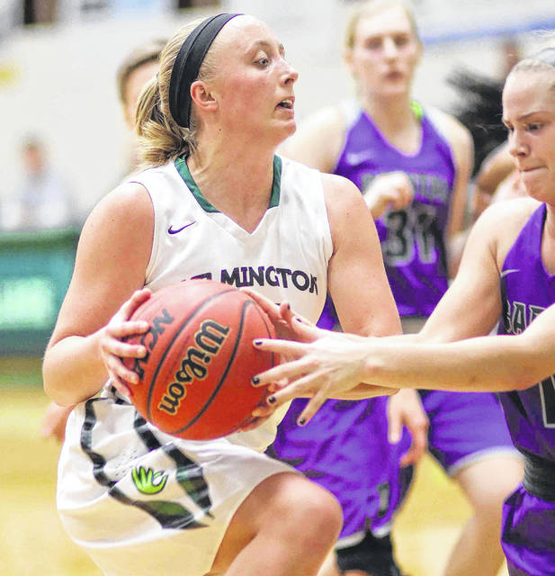 Savannah Hooper had four assists and three steals for the Wilmington College women's basketball team in a 65-64 win Wednesday over Capital at Fred Raizk Arena.