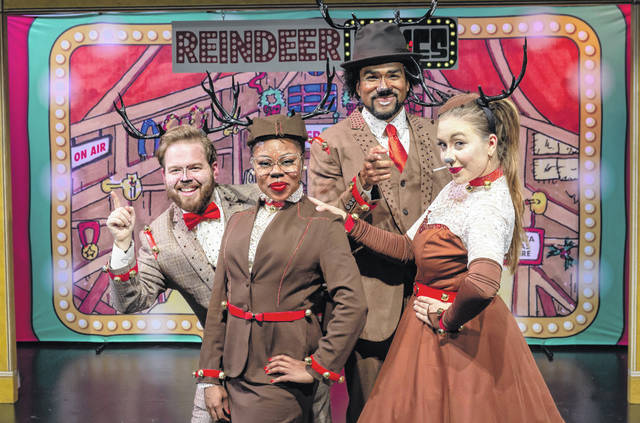 """The cast of TCT on Tour's """"Reindeer Games."""""""