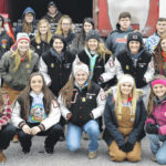Wilmington FFA delivers fruit boxes to needy