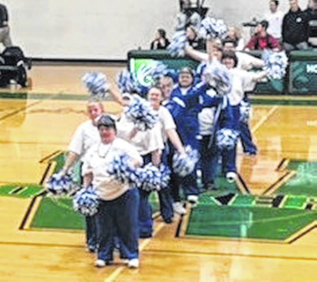 The Clinton County Shooting Stars and Clinton County Knights tipped off their season Friday against the Madison County Tigers at Wilmington College's Fred Raizk Arena. In addition to the two basketball games, the Shooting Stars cheerleaders performed at halftime.