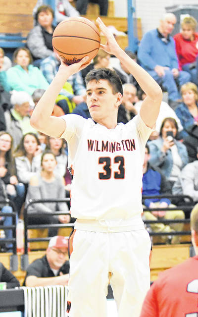 Matt Butcher had 12 points for Wilmington in Friday night's win over New Richmond