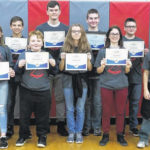 Frye is champion speller at East Clinton Middle School