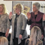 Clinton County realtors present sales awards, install officers