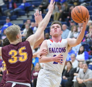 Falcons survive in OT, advance to face No. 2 seed