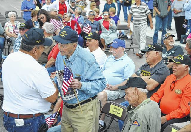 Clinton County Honor Flight had two send-offs — one in 2016 and one in 2017 in Wilmington, as well as prior to take-off from Dayton.