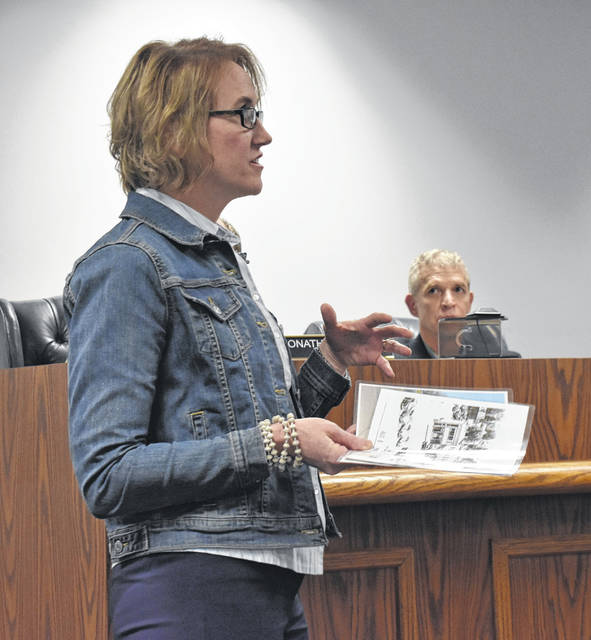 Sherry Weller of the New Life Clinic at 100 S. South St. spoke to Wilmington City Council at their Thursday meeting about some of their updates.