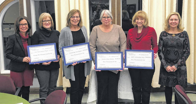 From left are Louanne Blumberg, Liz McAllister, Patti Settlemyre, Gretchen James, Pat Richardson and Kathy Havey.