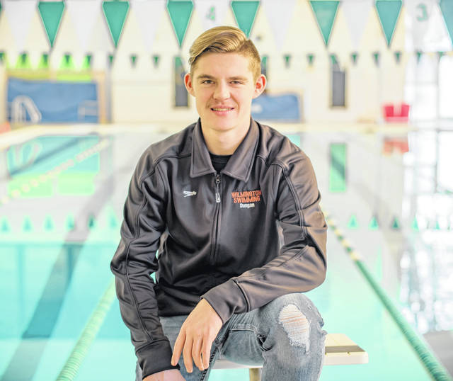Ricky Dungan has qualified for the state swim meet in two events this year - the 50- and 500-yard freestyle.