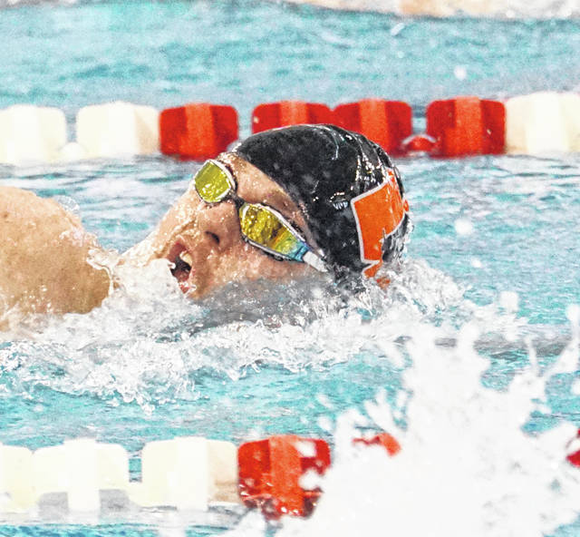 CANTON -Ricky Dungan isn't quite ready for his Wilmington High School swimming career to end. On Thursday in the Division II OHSAA Swimming & Diving Championships, Dungan finished in the top 16 in two events and will swim two more races on Friday. In the 50-yard free, Dungan clocked a 21.97 in his heat and finished fifth among the eight swimmers. Overall, the time was good enough for Dungan to compete in the consolation finals, which determines places 9-16. In the 500-yard freestyle, Dungan went 4:50.82 last week at the district meet. On Thursday, his time was 4:46.21 in his preliminary heat. The time was good enough for a personal best for Dungan. Dungan will compete in the consolation finals for ninth place. Currently his time is 12th best. The ninth place time from Thursday was 4:44.79.