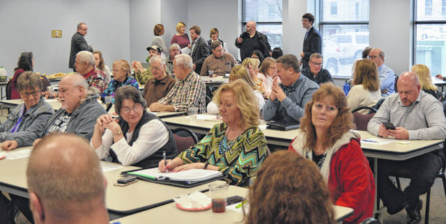 Organizers were pleased with the turnout at the initial meeting for a 2019 Clinton County Coordinated Public Transportation Plan.