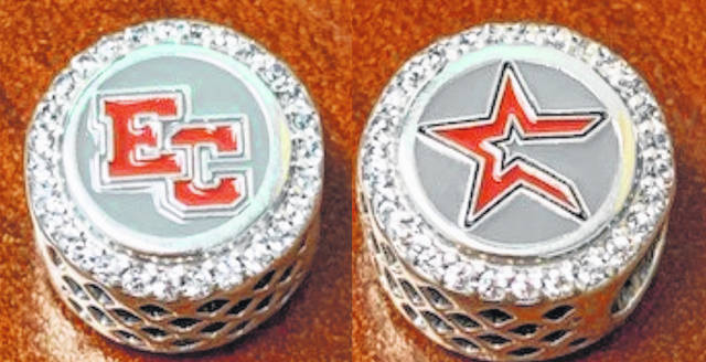 "Rome Jewelers will be selling ""EC ASTROS"" Pandora charms and donating $25 from each sale to EC's Project TRUST."