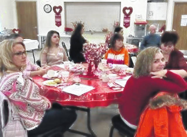 The Wilmington Savings Bank Clinton County Senior Center was busy on Valentine's Day hosting a breakfast for local businesses and organizations and then providing lunch at noon for Clinton County seniors. At the breakfast local businesses were informed about what the senior center has to offer to the community — activities, facilities as well as membership.