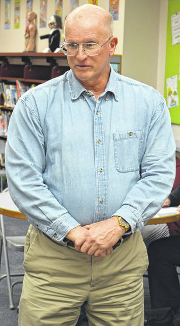 East Clinton teacher Bruce Warren is the volunteer advisor for a new trap and skeet shooting club for students.