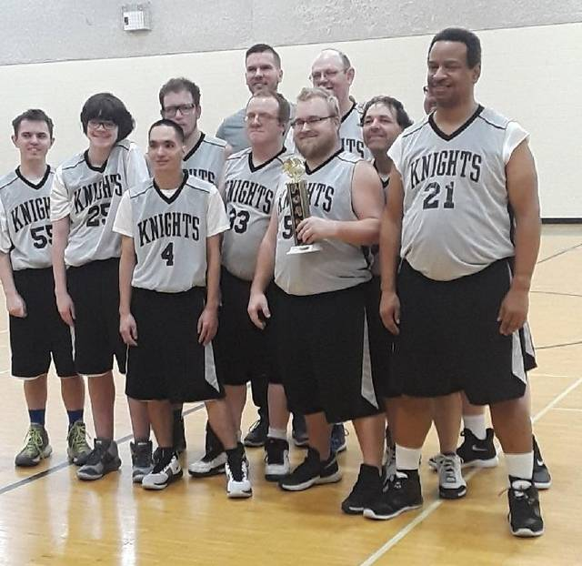 The Clinton County Knights will compete in the Special Olympics state basketball tournament later this month.