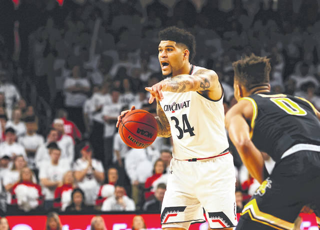 Jarron Cumberland was named the AAC men's basketball player of the year on Wednesday.