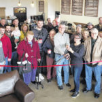 Kairos Coffee cuts ribbon