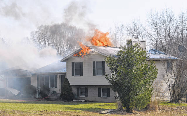 There were no reported injuries from a mid-afternoon house fire southwest of Clarksville in Warren County near the Clinton County line. The Clinton-Warren Joint Fire District & EMS responded, and received mutual aid from the Wilmington Fire Department & EMS as well as the Blanchester Marion Township Fire District. There was no immediate word what caused the blaze.