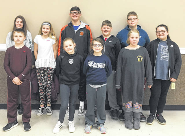 Clinton County Fur and Feather 4-H Club recently met for the second time this year. The 2019 officers are: front, Austin Burden, safety officer; Rosie Hall, safety officer; Leah Perry, safety officer; and Emily Goodwin, news reporter; back, Hannah Armstrong, secretary; Katie Hinkle, health officer; Jayden Doyle, president; Jace Doyle, health officer; Daniel Hinkle, vice president; and Hannah Perry, health officer. Advisors are Kevin and Vicki Bogan, Michael Cook, Bella Cook, Debbie Harvey and Carissa Brandenburg.— Emily Goodwin, News Reporter