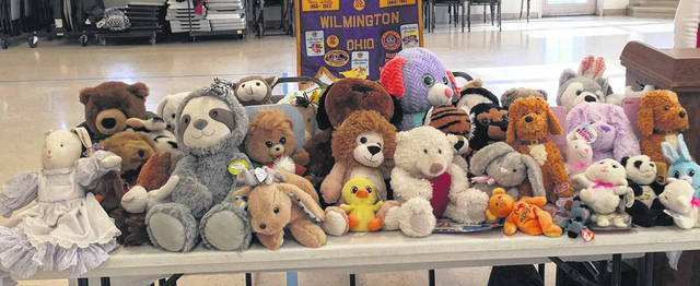 After a recent Lions Club visit from Kim Vandervort, Director of the Clinton County CASA (Court Appointed Special Advocates) program, many Lions Club members participated in purchasing stuffed plush toy animals that will be donated to CASA. Kim described the need for these comfort toys when young children enter the CASA program. Almost 70 stuffed animals were collected at the Monday night meeting. Some members unable to attend the meeting also had more to add to this collection.