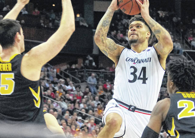 Wilmington High School graduate and University of Cincinnati junior Jarron Cumberland was given honorable mention on the Associated Press Division I men's college basketball All-America team Tuesday afternoon. Cumberland averaged 19 points and 4 rebounds per game for the Bearcats, who finished 28-7. He had nearly 4 assists and just over 1 steal per game. Cumberland was named the American Athletic Conference player of the year and the conference's Most Outstanding Player in the post-season tournament.