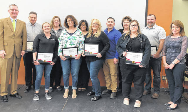"Representatives of groups that earned ""SPECIAL"" recognition."