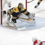 Rask's roll has Bruins a win away from Stanley Cup Final
