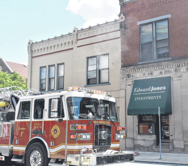 The Wilmington Fire Department quickly extinguished a fire downtown at an East Locust Street apartment early Tuesday afternoon. A cause has not yet been determined.