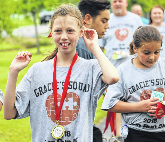 Gracie is among the returning team captains for this year's annual fundraiser set for Saturday, May 18.