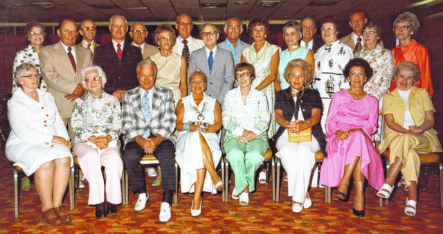 Can you identify the folks in the Wilmington High School Class of 1937 reunion photo? Let us know at info@wnewsj.com. The photo is courtesy of the Clinton County Historical Society. The Clinton County History Center is now open Saturdays 10 a.m.-2 p.m. For more info, visit www.clintoncountyhistory.org; follow them on Facebook @ClintonCountyHistory; or call 937-382-4684.