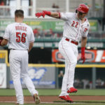 Reds pound Verlander, go for sweep today