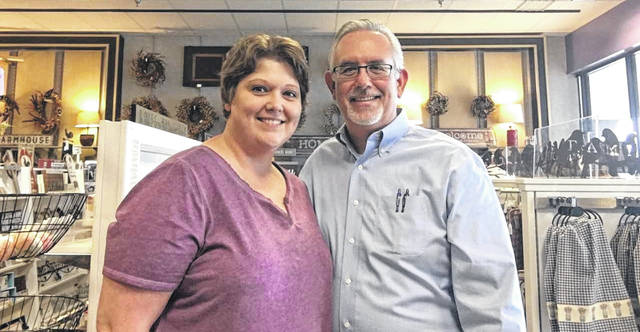 "Alma's Attic owners Joni and Brad Palmer are working to ensure that Clinton Countians can stay right here and enjoy ""antiquing."""