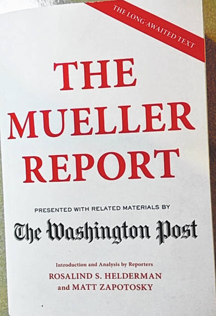 """Five public book club-style discussions of """"The Mueller Report"""" hosted by A.C.T. will be held at the Wilmington Public Library beginning June 29."""