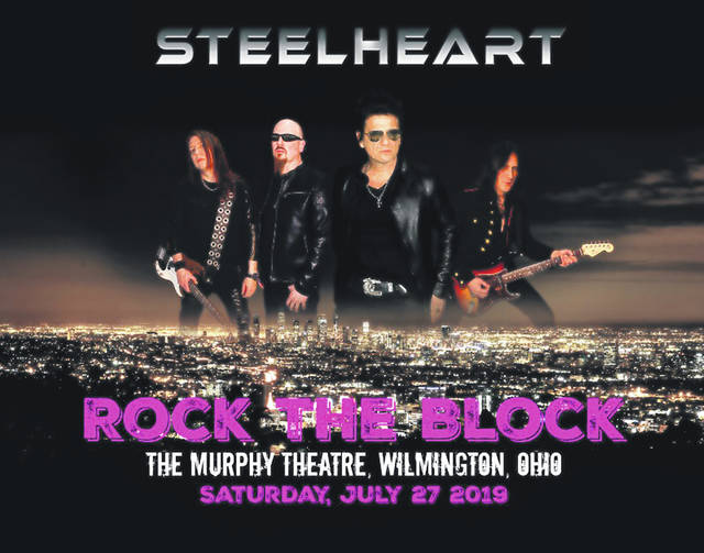Steelheart will be featured at Rock the Block in July.