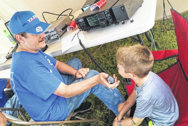 Field Day is a good opportunity for anyone that is interested in ham radio to give it a try and check it out — you don't have to be licensed to get on the air at this event.
