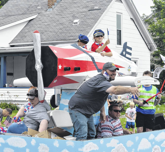 Blanchester concluded its annual two-day Red White and Blanchester Blue celebration, featuring music, food, games as well as the Thursday morning parade. For more photos, please visit wnewsj.com .