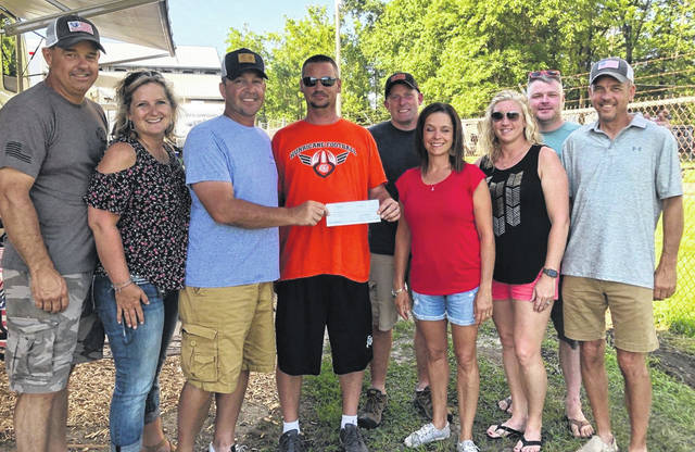 The Fraternal Order of Eagles in Wilmington recently helped in sponsoring the Davis Golf Outing as well as the Operation Cherrybend golf fundraiser, donating $1,200 and $1,500 by being hole sponsors.