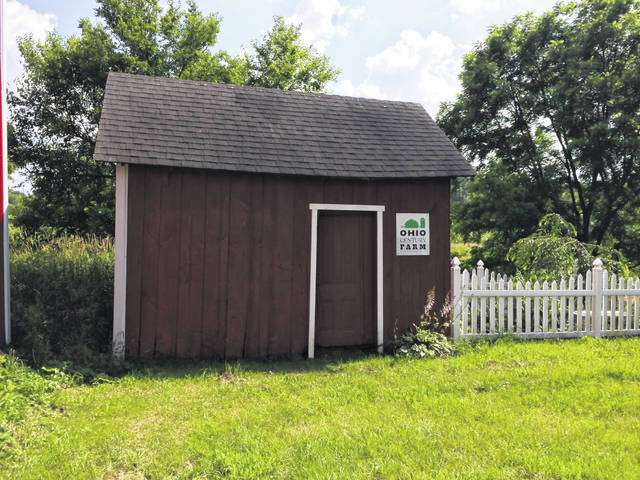 The shed where Johnny Appleseed slept.