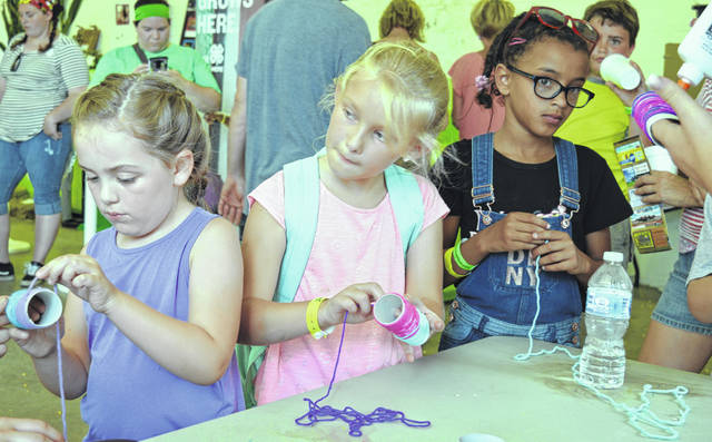 This year's Clinton County fair has fun for everyone including plenty of music, food and all the junior fair (including some Cloverbuds, shown at the 2018 fair) and senior fair activities.