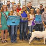 Grand Champion goat brings $1,900