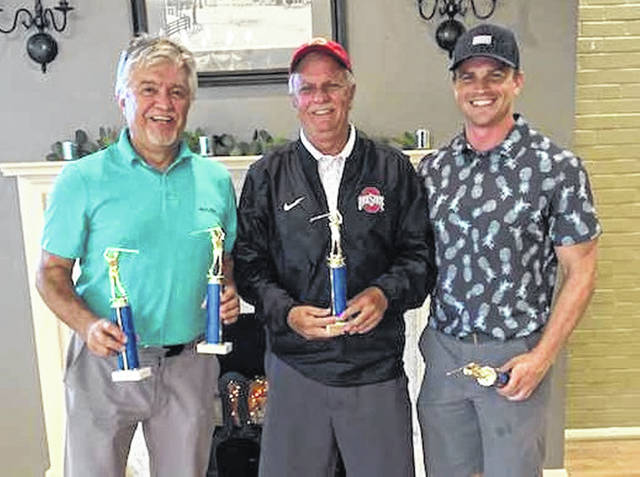 The winners of the 2019 Wilmington Rotary Club Golf Outing is Team Rudduck, consisting of (shown) Tim, Ron and Kyle Rudduck and (not pictured) Brett Rudduck.