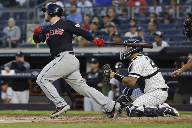 Ramírez, Santana power Indians to 7 HRs in 19-5 rout vs NYY