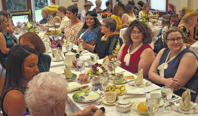The first-ever Downton Abbey tea fundraiser was a sell-out for the Clinton County Historical Society and Executive Director Shelby Boatman.