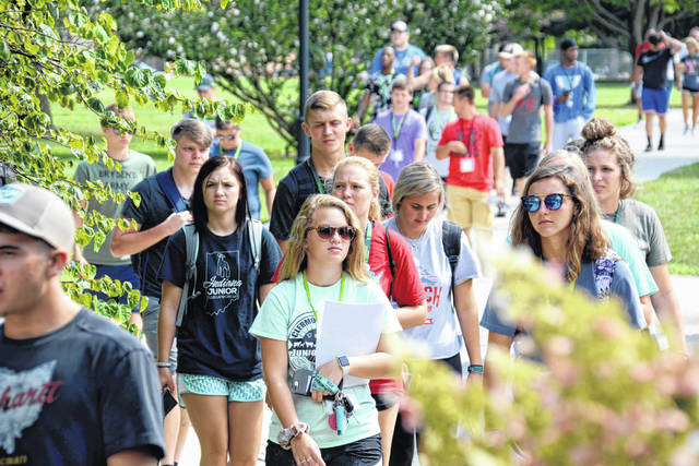 Fall semester classes started Monday at Wilmington College.
