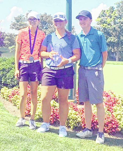 At the Muirfield Village Golf Club in Dublin, Clinton County golfers Lilly Middleton, Gabby Woods and Jack Murphy competed in the PGA Southern Ohio Section Junior Tour Championship tournament Tuesday and Wednesday.