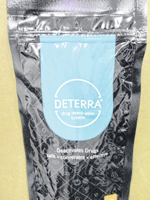 Deterra bags are now available locally.