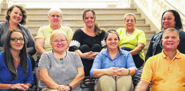 The staff of the Clinton County Auditor's Office.