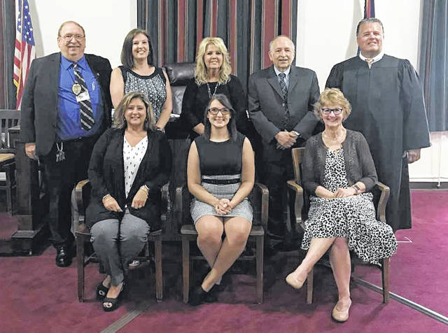 The staff of the Clinton County Juvenile Court.