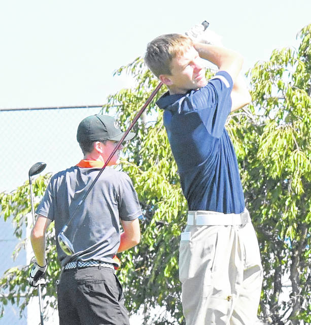 Blanchester's Brian Miller had a 45 Tuesday in the SBAAC National Division season finale at Snow Hill Country Club.