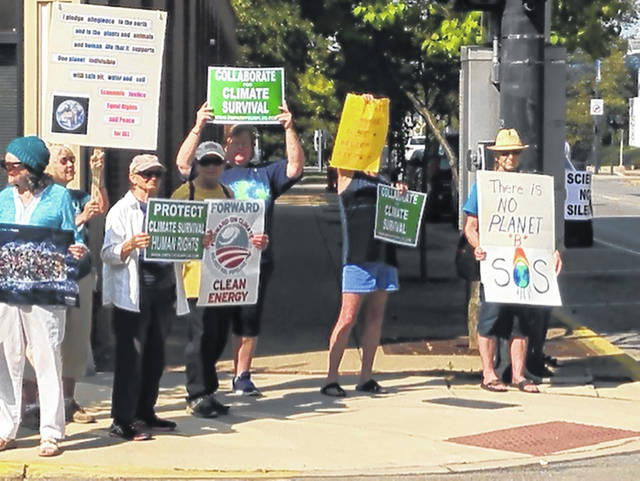 """The Wilmington """"Strike With Us"""" event on Friday was one of more than 1,000 marches and gatherings nationwide aimed at raising awareness of the climate crisis and calling for public and private response. The Empathy Surplus Project was the local sponsoring organization."""
